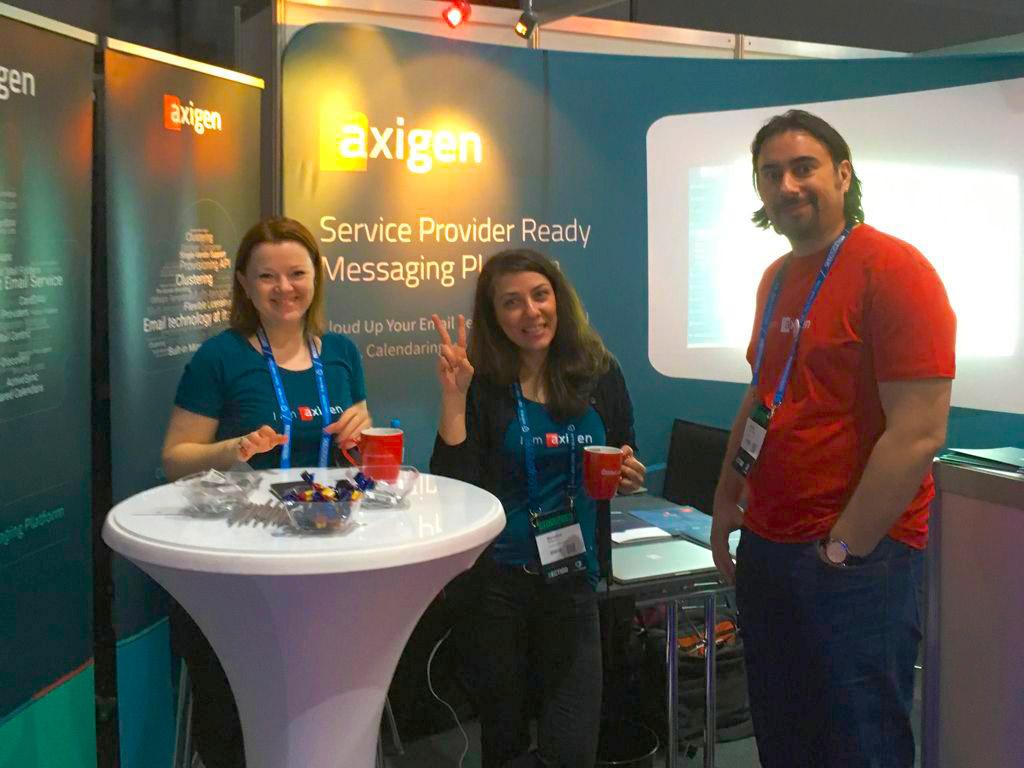 Team di Axigen al Cloudfest 2019 | ANSWER